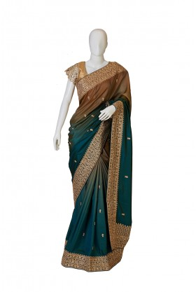Silk Shaded Saree Chico And Sapphire